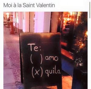 Te amo Tequila le Tequiloelogue Tequiloelogie